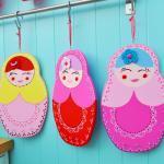 Light pink russian doll