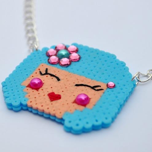 Kokeshi doll Necklace